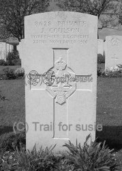 John Coulson headstone